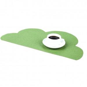 Environmentally Friendly PVC Non-slip Insulation Pad Western Food Mat Table Mat Coaster Heat Insulation Durable Place Mat