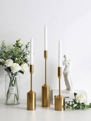 European Candlestick Home Decoration Wedding Romantic Supplies Decorative Candlestick Ornaments Candlelight Dinner Props