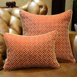 European Luxury Elegant Geometry Sofa Decorative Throw Pillows Cushion Cover Home Decor Almofada Cojines Decorativos Recommend