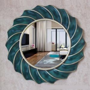 European Mirror Simple round Decorative Mirror Hanging Bathroom Mirror home antique Bath Mirror