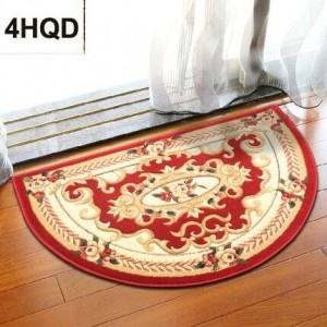 European semi-circular floor mat entrance door mats Entrance hall floor mats stair floor mats
