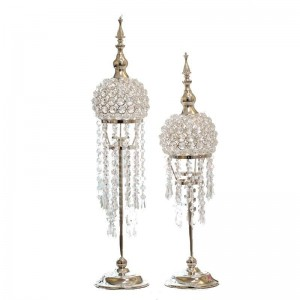 European Silver Plated Candlestick Wedding Table Decoration Home Decoration American Candlestick Gift