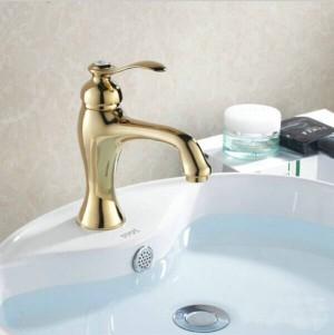 Factory sale single handle brass basin bibcock faucet G1011