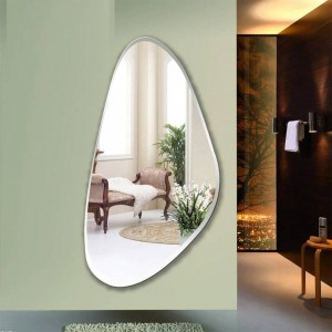 Frameless fitting mirror bedroom decoration mirror wall hanging full-length mirror entrance floor mirror wx8231137