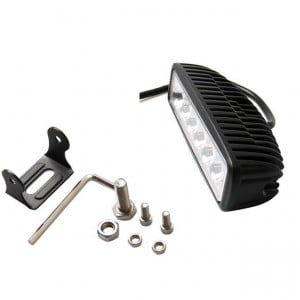 2pcs 36W 6 inch high brightness LED Light Bar Flood Spot Beam Spotlight Light Bar Fit ATV DIY outdoor light