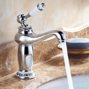 Contemporary Antique Brass faucets Bathroom Sink Basin Faucet Mixer water Tap Home Improvement 9031AP