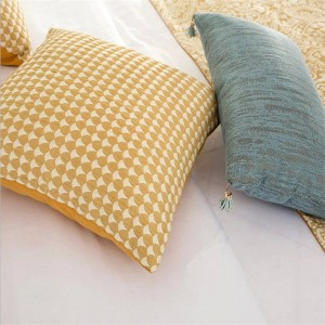 Geometric Patchwork Europe Luxury Cushion Cover almofada Cojines Decor Pillows Case Home Textiles Supplies Chair Seat Car Covers