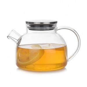 Glass Teapot Cup High Borosilicate Heat-resistant Tea Set Set Heat Safety And Explosion Protection Tea Set With Comfortable Hand