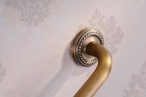 Grab Bars Antique Brass Bathroom Armrest Bathtub Safety Grab Bar Towel Rack Home Toilet Elderly Child Non Slip Handrail HJ-1314F
