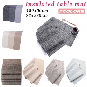 Heat Resistant Antiskid Table Pads For Environmental Protection Environmentally Friendly Innovative Tablecloth Table Decoration