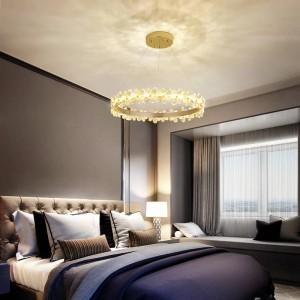 Home office led chandeliers ceiling fixture Restaurant Lighting Romantic Bedroom lamp living room crystal lights chandelier