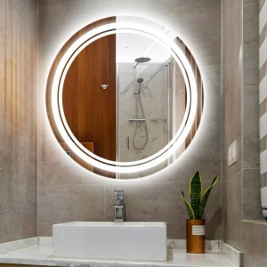 Home Round led makeup mirror light wall lamp IP54 waterproof Bathroom hotel room Toilet Mirror Led light Led wall fixtures