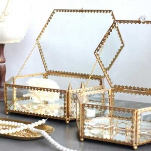 InsFashion creative handmade creative jewellery boxes for modern luxe home decor