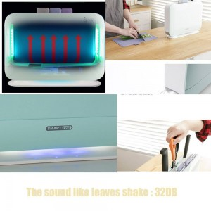 IRIVER BLANK UV Electric Index Chopping Board Sterilizer Kitchen Knives Disinfection Machine,3pcs Cutting Boards Set For Home
