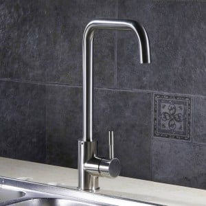 Kitchen Faucets Kitchen Water Tap Stainless Steel Kitchen Sink Faucet Single Handle Tall Spout Wash Basin Mixer Taps YC-CF2838