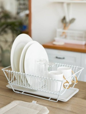 Kitchen Rack Wash Plate Chopsticks Dish Knife Storage Rack Drying Drain Rack