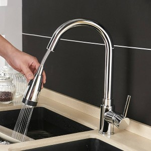 LED Faucet For Water in The Kitchen Torneira De Cozinha LED Light Sink Faucet Brass Hot Cold Deck Mounted Bath Mixer Tap 508906