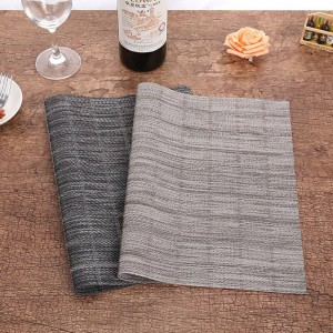 Lekoch 4Pcs/lot Cup Placemats For Table PVC Water-proof Dining Place Mats Bowl Plate Dish Pad Coasters Set Kitchen Accessories