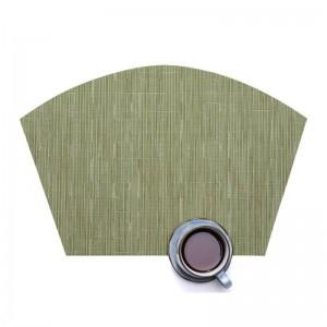 Lekoch 5Pcs/lot PVC Placemats Non-slip Plastic Placemat Mugs Bowl Pad Plate Mat Drink Dining Table Mats Home Kitchen Accessories