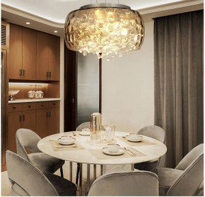 Living Room Lamp Modern chandelier lighting Romantic Crystal Lamp New Nordic Style led chandeliers ceiling Dining Room lights