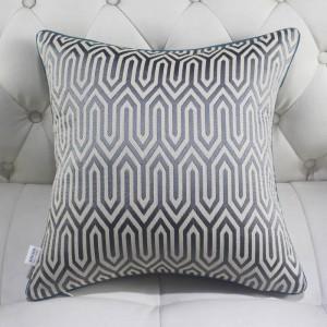 Luxury Chenille Jacquard Cushion Cover High-precision Thick Almofadas Simple Home Decor Square Geometric Pillow Case Car Covers