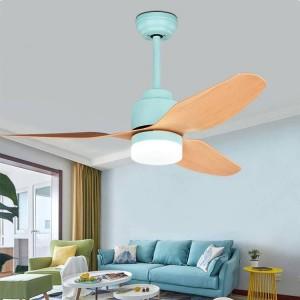 Modern 42inch Invisible Fan Light For Living room Loft Fan Light with E27 bulb 220V Decoration Fan Ceiling Lamps for Bedroom