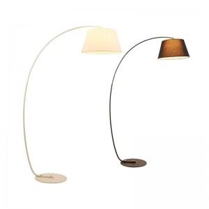 Modern Fishing Floor Lamp black white lampshade Twiggy Terra floor lamp Living Room reading bedroom standing lamp
