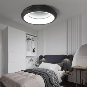Modern LED Acrylic ceiling lights Creative Fixtures children bedroom ceiling lamps Nordic Novelty Iron Round Ceiling lighting