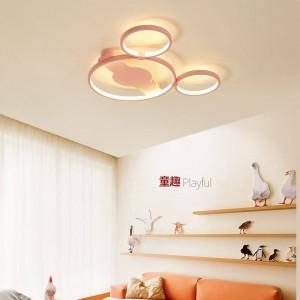 Modern novelties Led Lights Children's Room Ceiling Lamp Boys Girls Baby Bedroom Lamp Creative Personality Nordic Cartoon Lamps