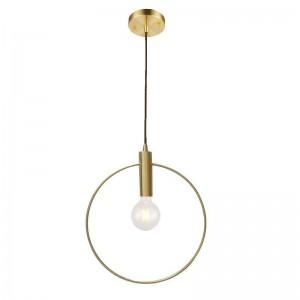 Modern simple Copper Pendant Lights creative deisgn Pendant Lamp dining room balcony Hanglamp Lampara Techo Colgante E27 lamp 5W