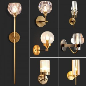 Mural Bathroom Lighting Bathroom Industrial Lampara De Pared Wall lamp Light For Home Applique Murale Luminaire Wall Lamp