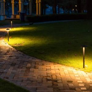 Mushroom shape led Lawn Lamp Waterproof walkway led Mushroom Landscape light Garden Villa Led Bar Outdoor Lighting pathway Lamp