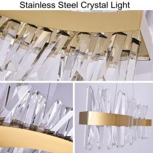 Nordic modern simple living room crystal restaurant pendant lights creative led art bar warmwhite bedroom drop lamp
