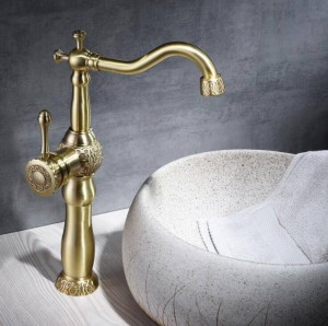 New Basin Faucets Antique Color Brass Crane Bathroom Faucets Hot and Cold Water Mixer Tap Contemporary Mixer Tap torneira B562