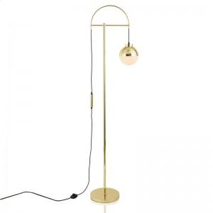Nordic art LED Floor Lamp Eye-protective gold metal body Modern Standing Floor Light for Home Living Room Study Bedside Reading