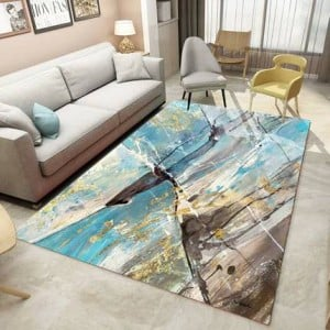 Nordic blanket Living Room Bedroom Coffee Table Mat European Style Simple Modern Abstract Sofa Bedside American Rectangular