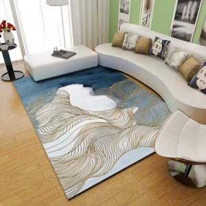 Nordic Carpet Living Room Modern Simple Tea Table Carpet Customized Net Red Bedroom Room Full of Carpets