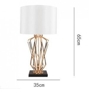 Nordic creative luxury table lamps desk light foyer bedroom hotel decoration Modern table light E27 led lighting fixture
