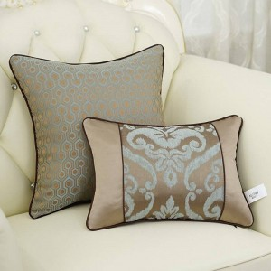 Nordic Cushion Cover Geometry Patchwork Luxury Jacquard All Match Throw Decorative Pillows Car/Pillow Cover Housse De Coussin