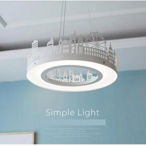 Nordic Hanging Lights for Children Room Modern Home Creative Led Pendant Light Kids Room Led Bedroom Princess Lamp Shade