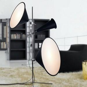 Nordic Led Floor Lamps Designer LED Floor Lights Aluminium Metal Lighting Stang Lamps Standing Lights Kitchen Fixtures Luminaire