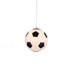 Nordic LED Pendant Lights Modern Children Room Glass Football Shaped Pendant Lamp Living Room Lovely Light Deco Kitchen Fixtures