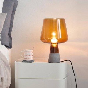 Nordic post modern desk Lamp creative cement table Lamp Reading Lamp E27 LED lamp Study living room home art decoration