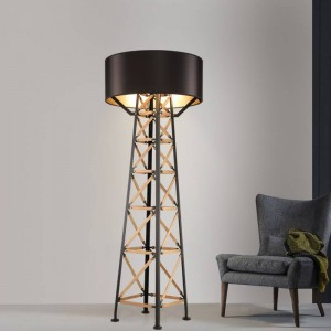 Nordic tower Floor Light post modern standing light Living Room modern Floor Hotel Lighting Bedside Fashion Floor Lamp E27 bulb