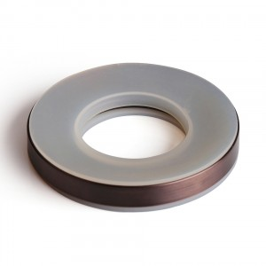 Oil Rubbed Bronze ORB ABS Plastic Mounting Ring for Vessel Sinks