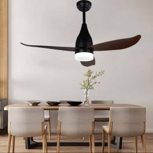 44inch Decoration LED Fan Light For Bedroom Modern Ceiling Fan Lamp For Living Room Art Deco Fan Lights