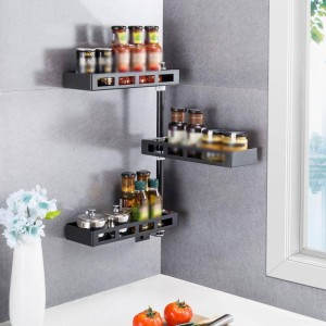 Organizer Escurridor De Platos Nevera Escurreplatos Stainless Steel Rotate Cuisine Cozinha Organizador Cocina Kitchen Rack