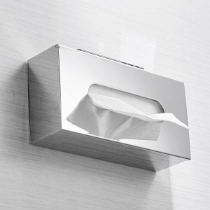 Paper Holder Stainless Steel Toilet Paper Tissue Pull Boxes Bath Room Desktop Srorage Organizers Phone Stand WC Paper LAD-18031