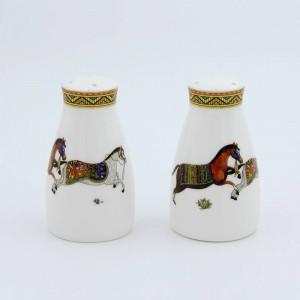Porcelain salt and pepper shakers god horses desi bone in salt bottle pepper bottle bone salt pepper