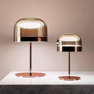Postmodern Creative Table Lamps Glass Table Lamp Bedroom Study led Lighting Living Room Model Room Hotel Decorative Table Lights